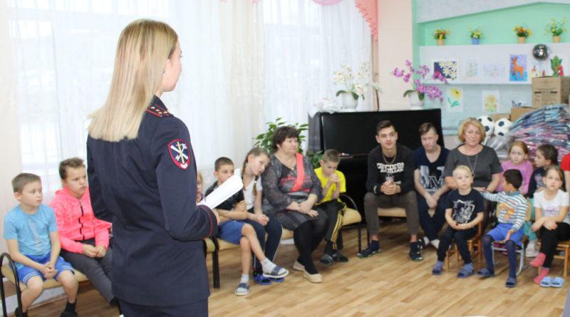 Сотрудники МВД провели нескучный вечер для воспитанников социально-реабилитационного центра