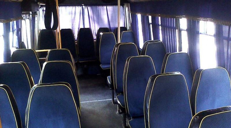 Дебош в автобусе