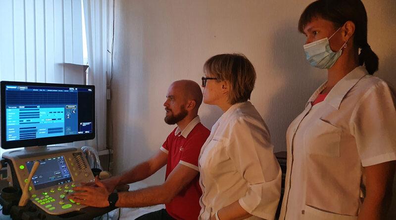 Городскую больницу города дооснащают высокотехнологичным оборудованием