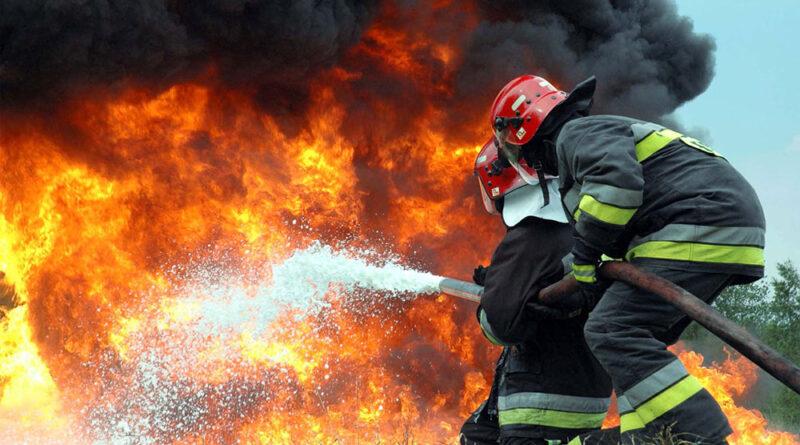 Пожар в психиатрической клинике