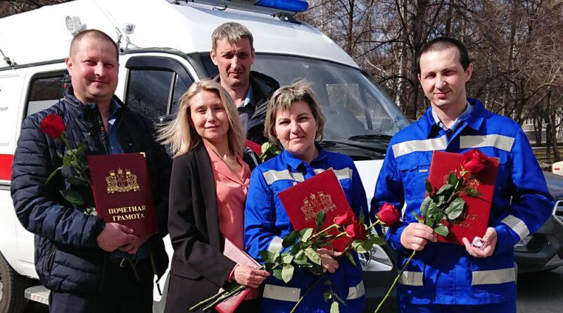 Награды от Губернатора — фельдшерам Скорой помощи Каменска